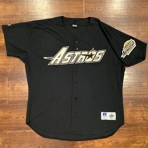 1990s Russell Houston Astros MLB Baseball Jersey